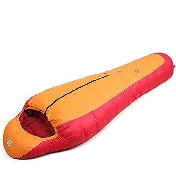 WLJ EUO Camping espesado en adulto saco de dormir y frío camping bolsas de dormir/