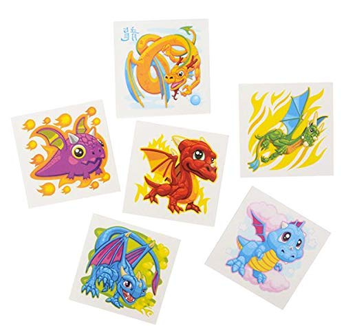 DollarItemDirect 2'' Dragon Tattoos, Case of 60 by DollarItemDirect (Image #1)