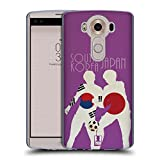 Head Case Designs South Korea Vs Japan Football Rivalries Soft Gel Case for LG G Flex2 / Flex 2