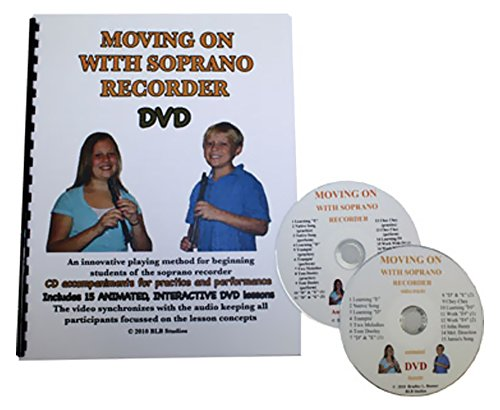 Price comparison product image Rhythm Band Moving On With Soprano Recorder With Dvd / Cd