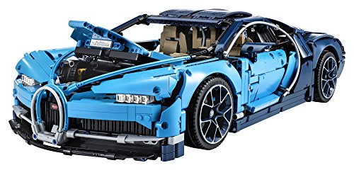 518udVmw7LL - LEGO Technic Bugatti Chiron 42083 Race Car Building Kit and Engineering Toy, Adult Collectible Sports Car with Scale Model Engine (3599 Piece)