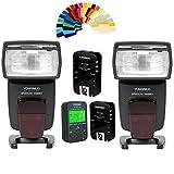 Yongnuo YN568EX TTL Wireless Flash Speedlite 2pcs+YN622N kit Flash Trigger +Controller for Nikon DSLR Cameras