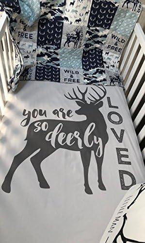 Deer Baby Blanket Hunter Theme Deer Nursey Country Decor Deer Hunter Adult Blanket Hunter Nursery Deer Cabin Theme Hunter Cabin Decor