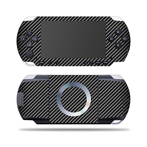 Sony PSP – Carbon Fiber | Protective, Durable, and Unique Vinyl Decal wrap Cover | Easy to Apply, Remove, and Change Styles | Made in The USA ()