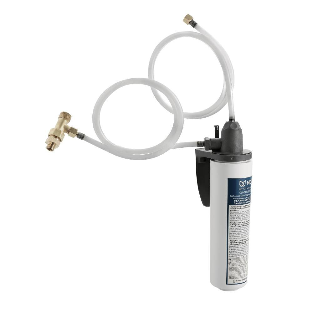 Moen S5500 Water Filtration System for Moen Sip Filtered Kitchen and Bathroom Faucets with Filter Included