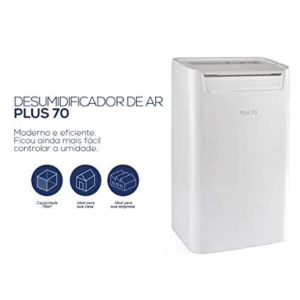 Desumidificador de ar - Linha Smart - Desidrat Plus 70-70m³ - Thermomatic  110V  Amazon.com.br  Casa 2e16ca8a6d
