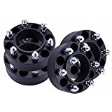 6x5.5 Black fit Toyota 01-17 Tacoma Hub Centirc 2 inch Wheel Spacers (4 Pieces)