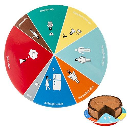 Wild Eye Designs Wink Cake Platter - Wheel of ()