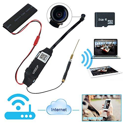 WiseupTM 8GB1920x1080P Network Detective Camcorder