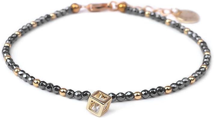 Multi Strand Bracelet Protection Bracelet Multi Stone Bracelet Hematite Jewelry