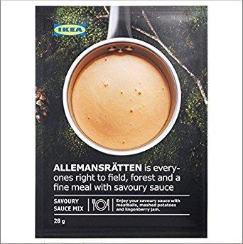 IKEA ALLEMANSRATTEN Cream Sauce Mix For Meatballs 28g (Pack of ()