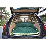 Travel Car Air Inflatable Flocking Bed SUV Back Seat Mattress Camping Sleep Air - Best Reviews Guide