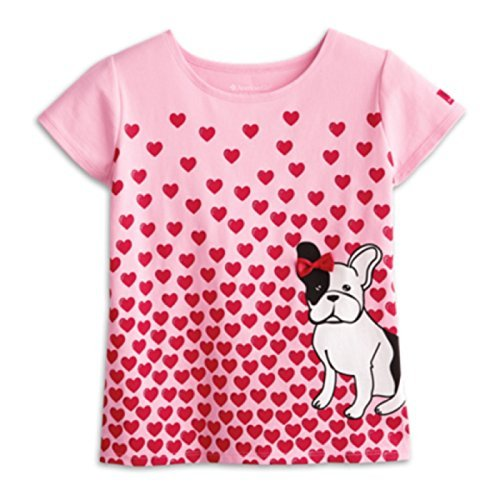 American Girl Graces Puppy Tee for Girls Size X-Large (18-20)