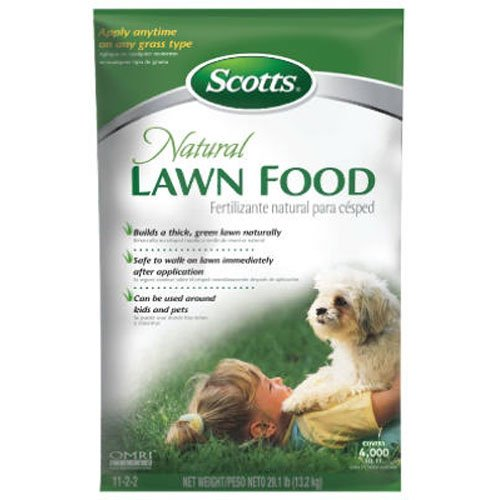Scotts Natural Lawn Food Fertilizer