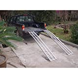 WASP 52103 2-piece 91 x 11-inch Arched Loading Ramps