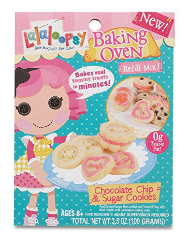 Lalaloopsy Baking Oven Mix- Chocolate Chip & Sugar -
