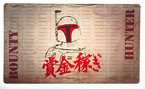 Bounty Fett Playmat Inked Gaming - Perfect for MtG, Pokemon, and YuGiOh gaming! MTG Playmat Your Game. Your Style. by Inked Playmats