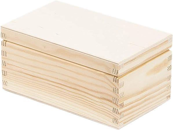 0,8 litros, caja de madera caja de madera Estuche de madera caja de regalo: Amazon.es: Hogar