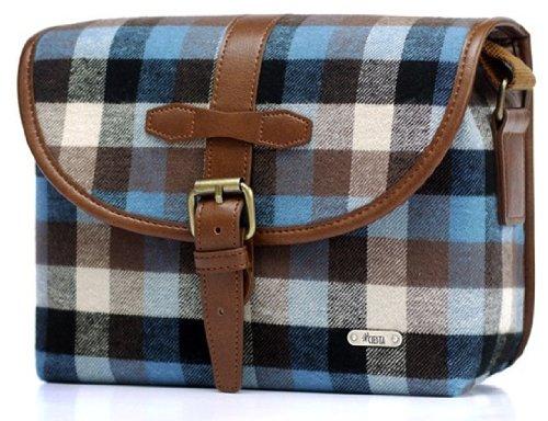 Ciesta Fruit Camera Fashion Shoulder Cross Messenger Bag CSB1855 for DSLR instax RF Mirrorless (Litchi)