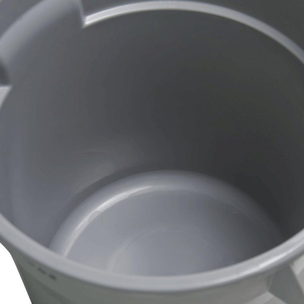 LIUFS Papelera Tambores Multiusos con Tapas Compartimientos de Almacenamiento Prima Compartimientos plásticos de Gran Capacidad Fábrica Materia Prima Almacenamiento Barriles Industriales Restaurantes Totalizador 6241fe