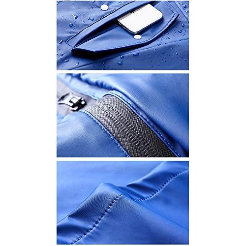 Blue Adulti Geyao Di Turismo Tide Giacca Equitazione Street Impermeabile Xl Size Donne color E Coppia Fashion Outdoor Uomini Cyan WqBxOURqw