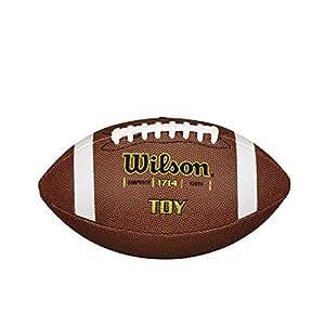 Wilson TDS Traditional Composite - Balón de fútbol americano, color marrón, talla única