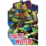 TMNT Invites, Party Favor