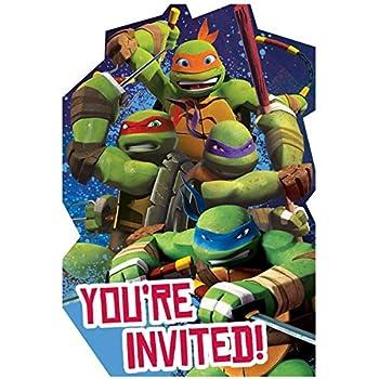 Amazon.com: TMNT Teenage Mutant Ninja Turtles Party ...