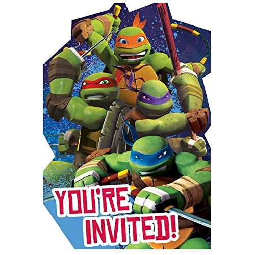 TMNT Invites, Party Favor -
