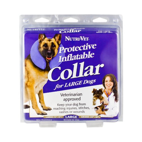 Nutri-Vet Protective Inflatable Collar for Dogs, Large