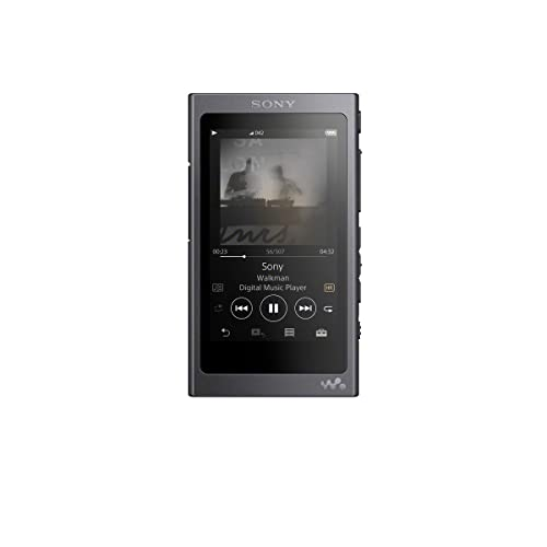 Sony NW-A35HN High Resolution Audio Walkman with Noise Cancelling In-Ear Headphone - Black