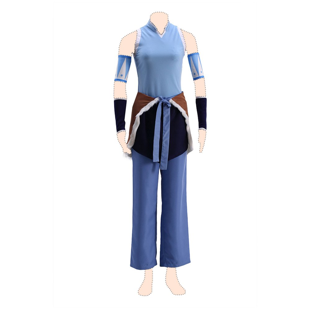 The Legend of Korra cosplay costume Korra Coat Large
