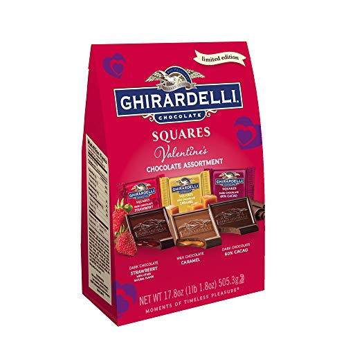 - Ghirardelli Ghirardelli Valentine's Day Chocolate Assortment XL Bag 17.8oz, 17.8 Ounce