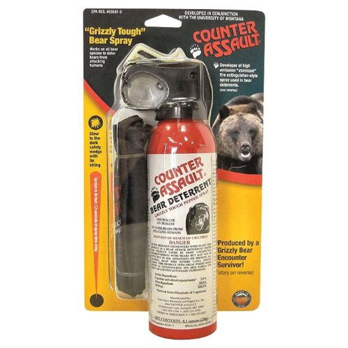Counter Assault Bear Deterrent with Holster, 8.1 Ounce
