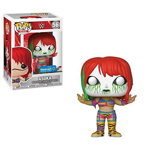 Funko Pop WWE Asuka with White/Green Mask Exclusive