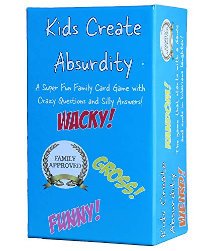Kids Create Absurdity Family Card Game for Kids with Funny Questions and Hilarious Answers Fun for Kids, Adults, Teens and Tweens Family Travel Card Game for Kids Easter Game