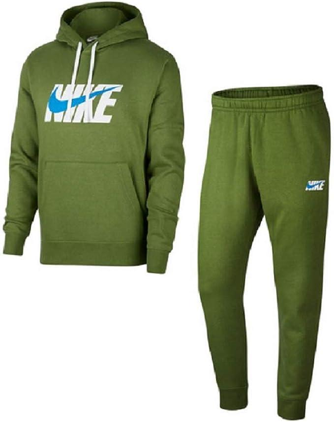 Nike Track HD Fleece GX - Chándal Verde L: Amazon.es: Ropa y ...