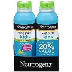 Neutrogena Wet Skin Kids Sunscreen Spray...