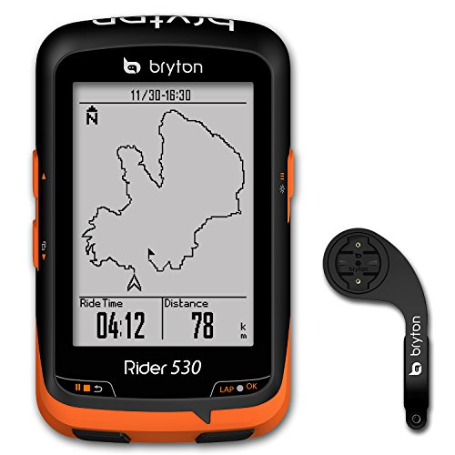 Bryton Rider 530 GPS Cycling Computer (2.6″ display, 530E – Base Model (New Packing)) For Sale