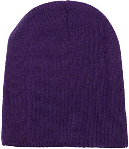 Simplicity Women Men Knitted Minion Cap Beanie Skull Hat, -