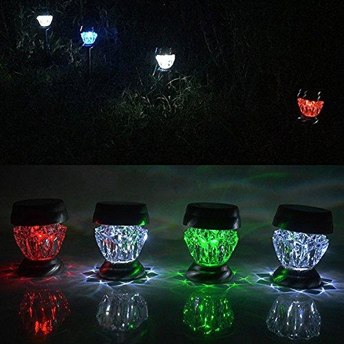 Colour Changing Garden Spike Lights
