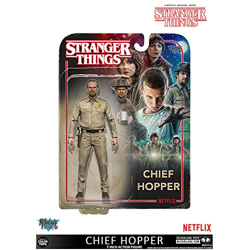 "In STOCK Mcfarlane Toys Netflix Stranger Things ""Chief Hoppe"