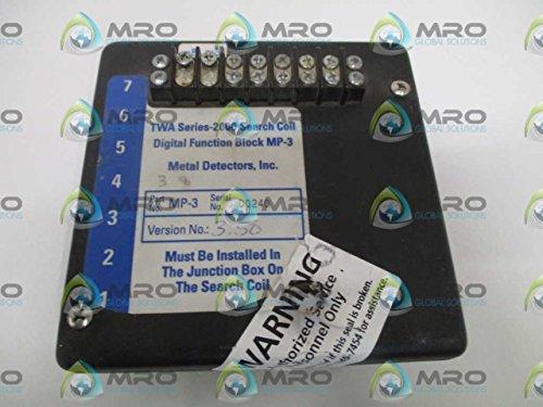 METAL DETECTORS MP-3 DIGITAL FUNCTION BOXUSED (Metal Detector Mp3)
