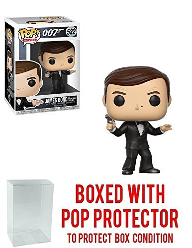 "Funko Pop! Movies: James Bond 007 - Roger Moore ""The Spy Who"