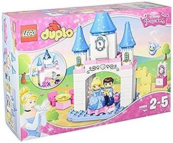 amazon com lego lego duplo disney cinderella s castle 10855 toys