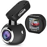 Oasser Car Cam Dash Camera Dashcam for Cars Sony IMX323 Sensor 1920x1080P FHD Auto Camera Driving Recorder 170°with Super Night Vision G-sensor Loop Recording U2