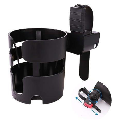 Universal 360° Rotating Stroller Drink Bottle Cup Holder Pram Pushchair Bike UK