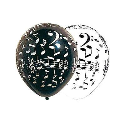 10 Ballons Notes Musique