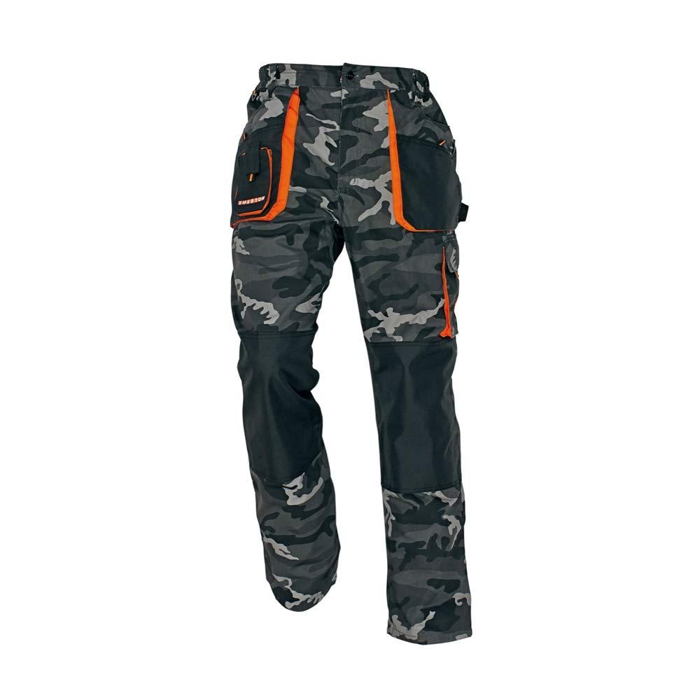 taglia 50 nero//grigio//grigio scuro confezione da 20 CERVA 0302 0036 12 Emerton Pantaloni