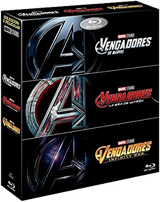 PACK Vengadores Infinity War + Vengadores + Vengadores. La Era de Ultron Blu-ray: Amazon.es: Robert Downey Jr, Chris Hemsworth, Mark Ruffalo, Chris Evans, Joe Russo, Anthony Russo, Robert Downey Jr, Chris Hemsworth: